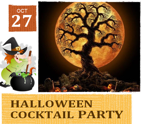CANCELLED – Halloween Cocktail Party