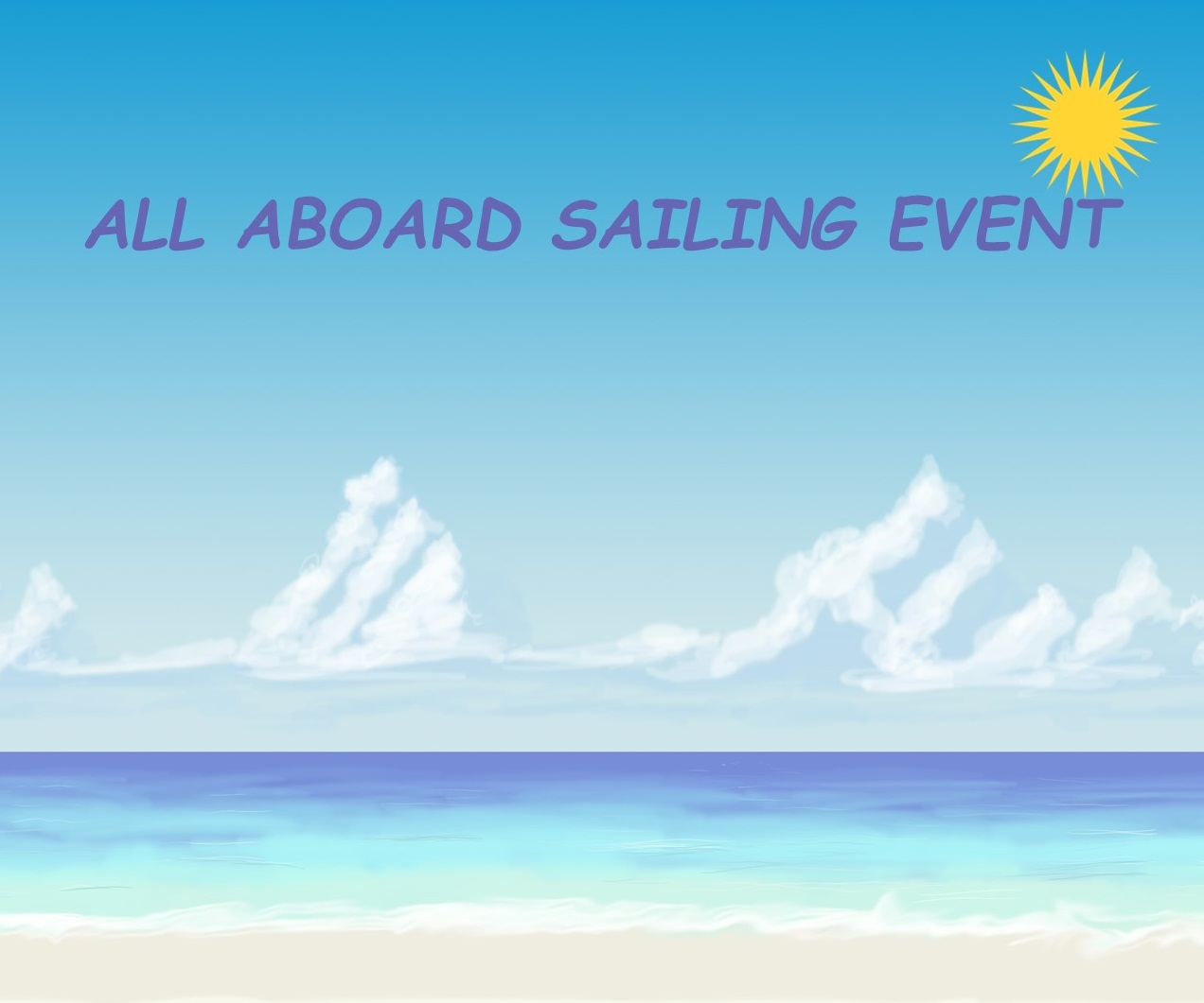 All Aboard Sailing Event