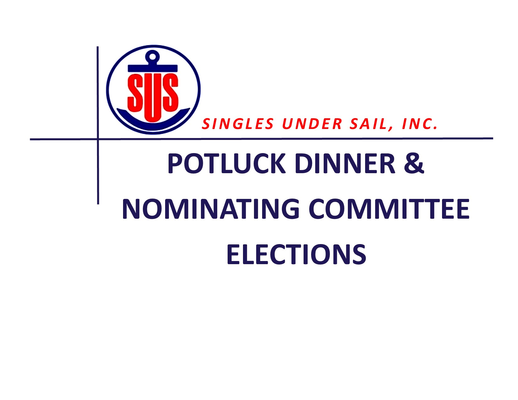 Potluck Dinner & Nominating Committee Elections